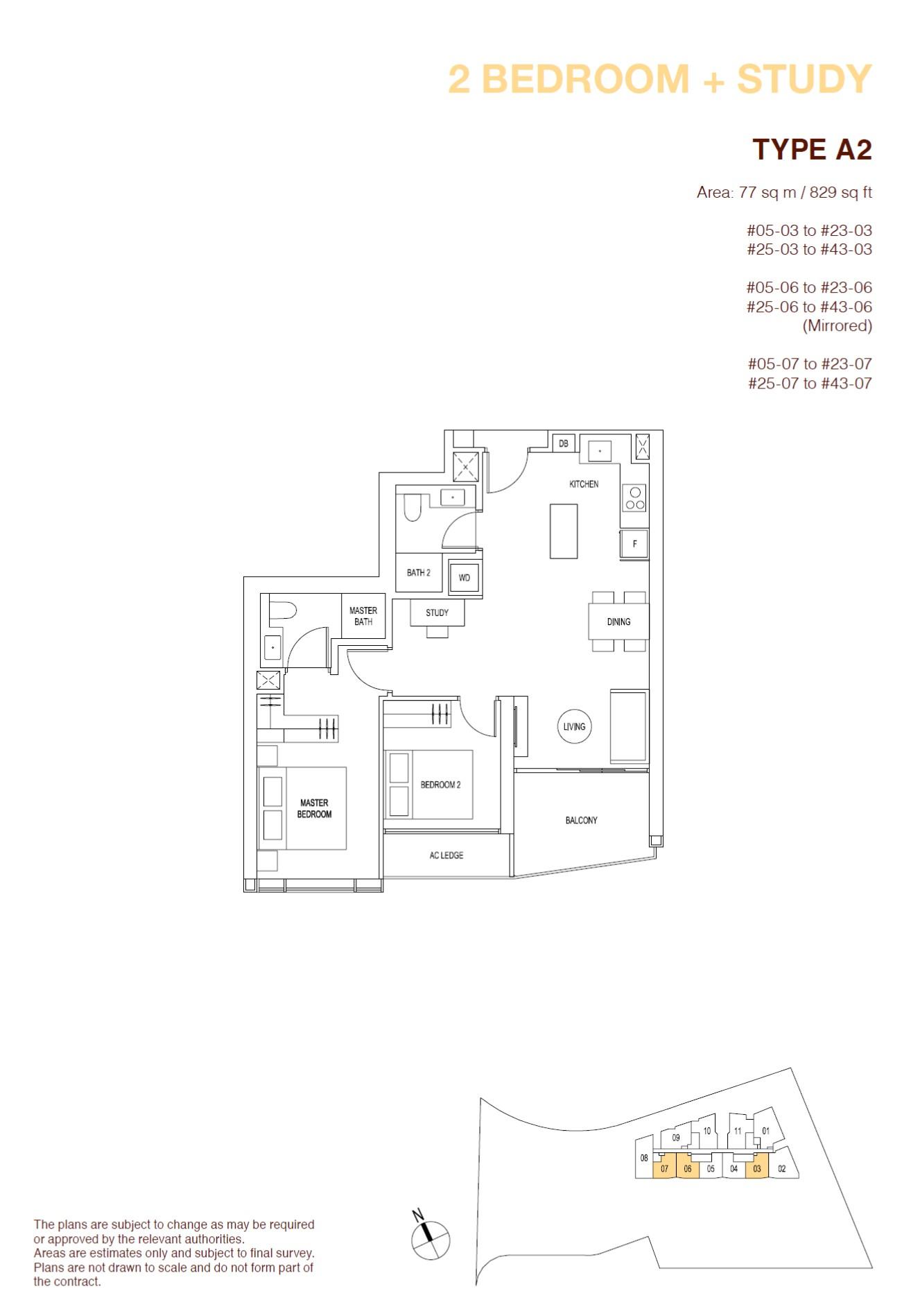 ARTRA Floor Plan Type A2
