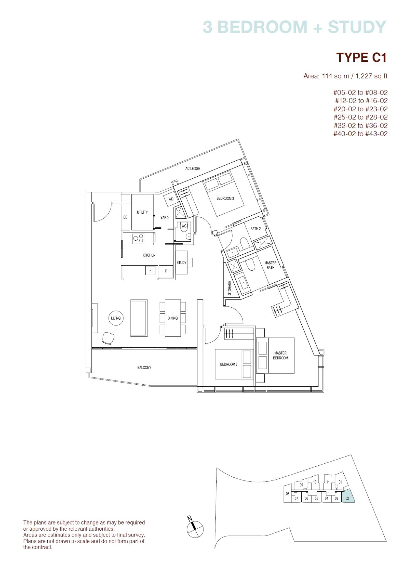 ARTRA Floor Plan Type C1