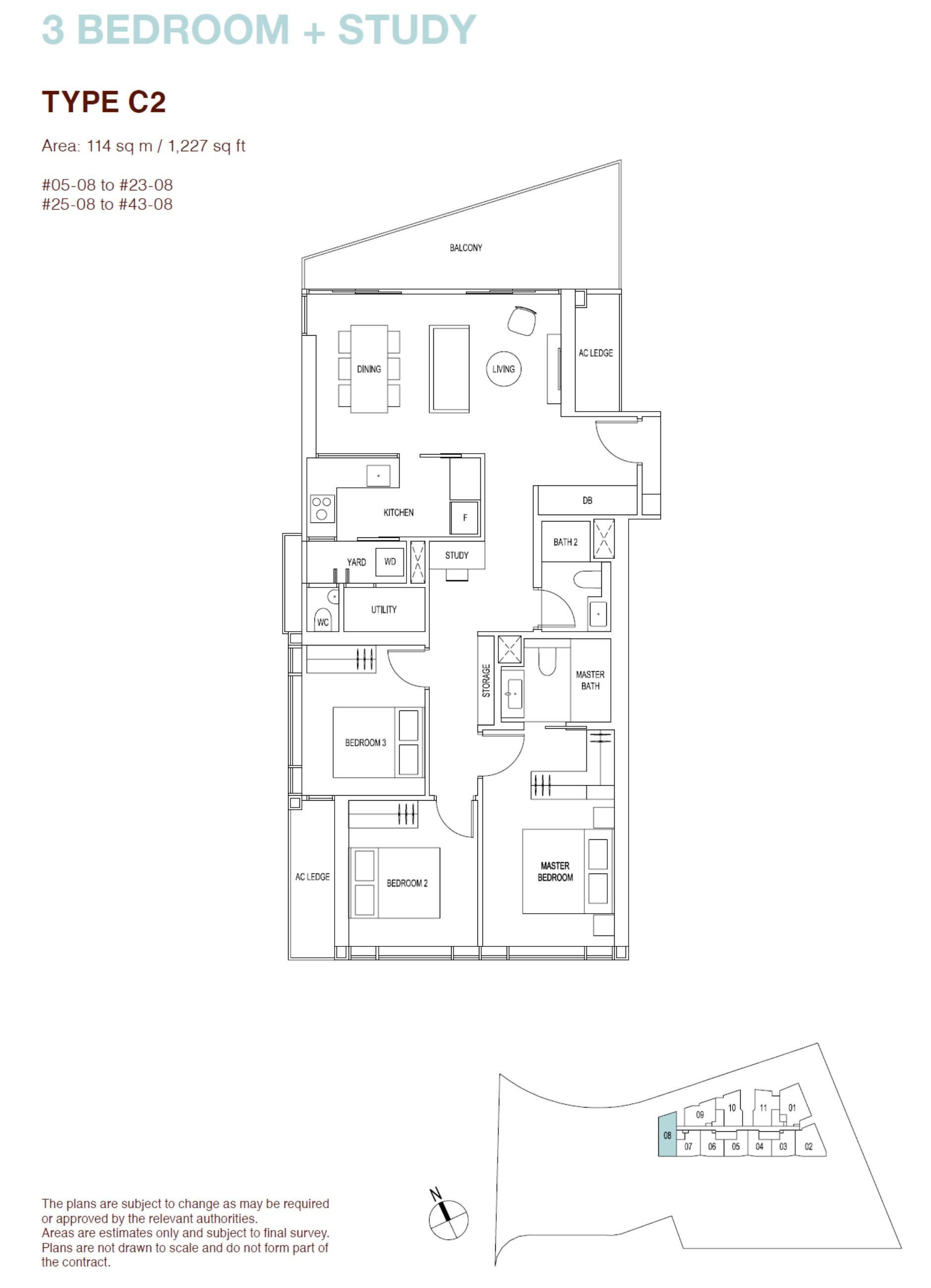 ARTRA Floor Plan Type C2