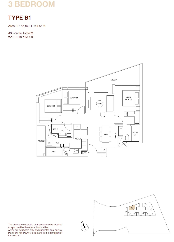 ARTRA Floor Plan Type B1