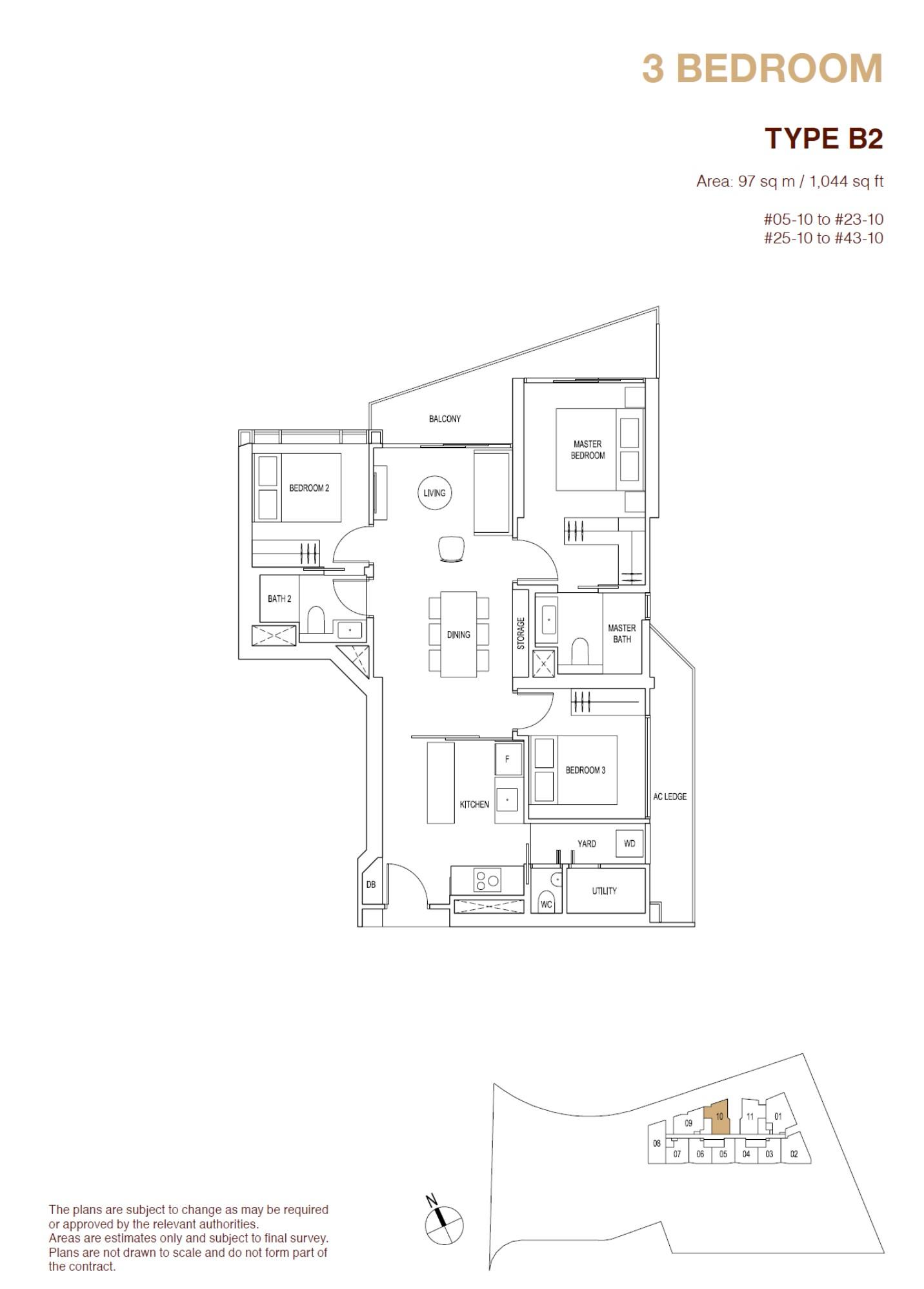 ARTRA Floor Plan Type B2