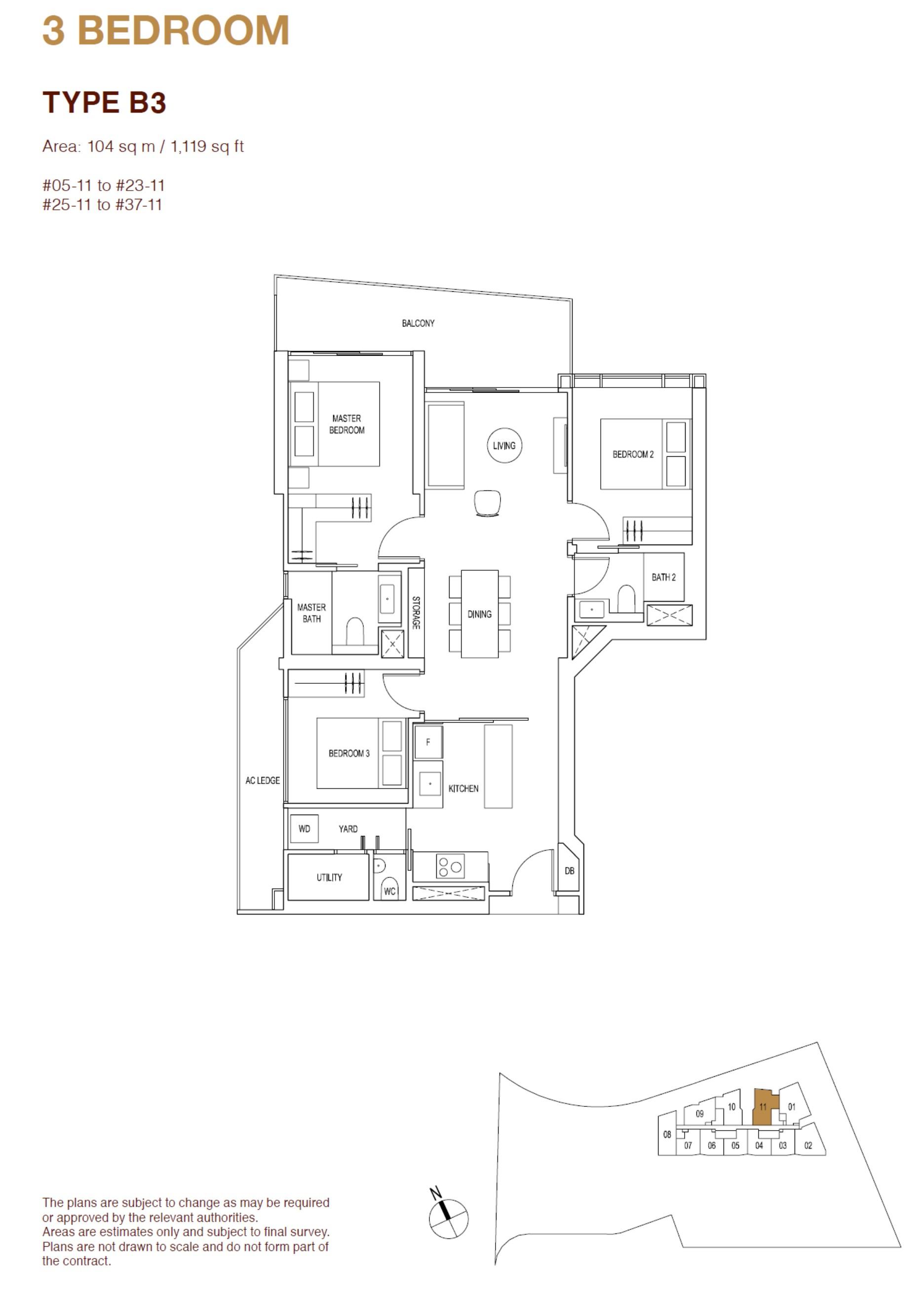ARTRA Floor Plan Type B3